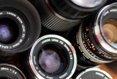 Banaan door fd-lens