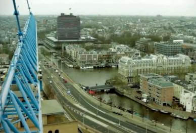 Hijskraan Amstelcampus