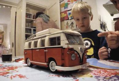 Lego VW camper bouwen