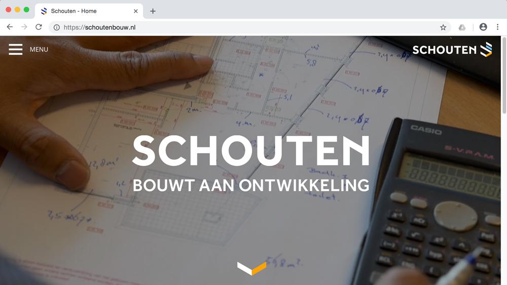 Video header op Schoutenbouw.nl