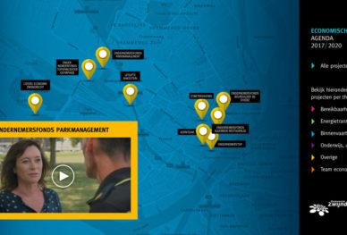 Interactieve kaart - Economische Agenda