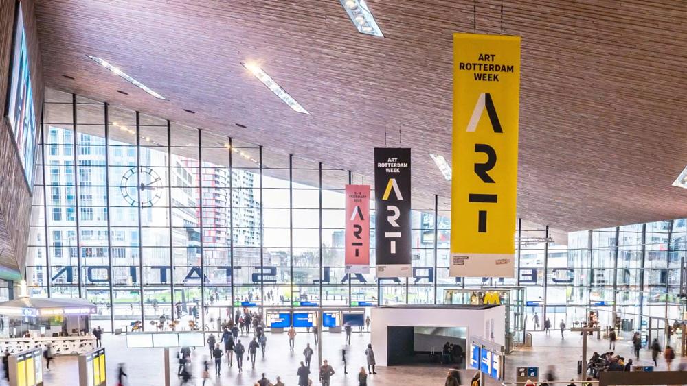 ArtRotterdamWeek Rotterdam Centraal Station