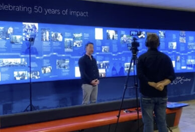 Behind the scenes - 50 years RSM timeline