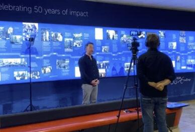 Behind the scenes - 50 years RSM timeline